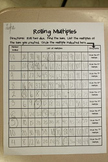 Rolling Multiples Multiplication Practice