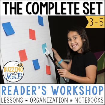 Reader's Workshop Bundle for 3rd, 4th & 5th Grade