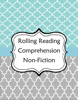 Rolling Reading Comprehension - Non-Fiction