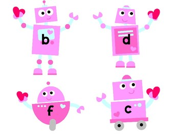 Rolling Robots Word Making Match-Up