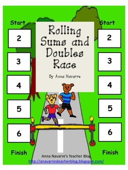 Rolling Sums and Doubles Race