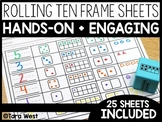 Rolling Ten Frame Sheets