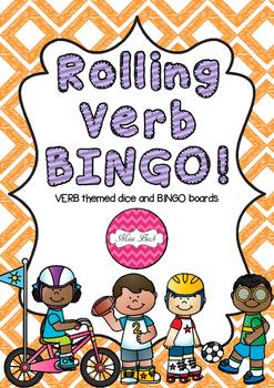 Rolling Verb BINGO!