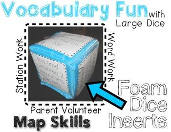 MAP SKILLS - Rolling Vocabulary