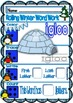 Rolling Winter Word Work for Kinders
