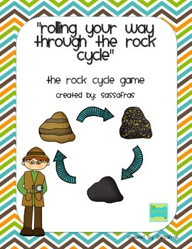 """Rolling Your Way Through the Rock Cycle"" Game"