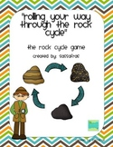 """""""Rolling Your Way Through the Rock Cycle"""" Game"""