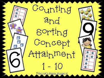 Counting and Sorting Concept Attainment 1 - 10