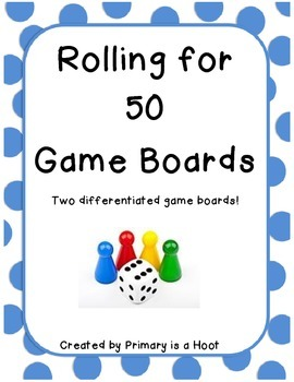 Rolling for 50 gameboards
