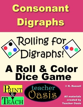 Rolling for Digraphs: Consonant Digraphs