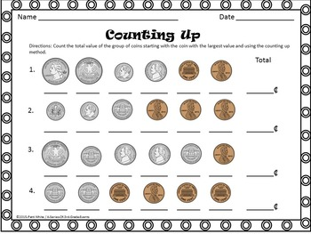 Rolling for Dollars Money Game & Money Counting Strategies