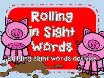 Rolling in Sight Word Building Activity
