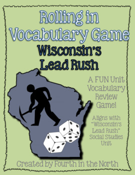 Rolling in Vocabulary Game - Wisconsin's Lead Rush