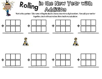 Rolling in the New Year Addition Freebie