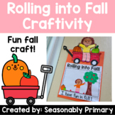 Rolling into Fall Craft   Wagon, Apple, Pumpkin, and YOU!