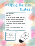 Rolling the Dice (Game for -ed and -ing endings)