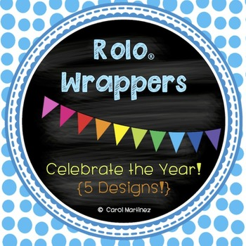 Rolo Wrappers {5 styles to choose from!}