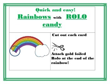 St. Patrick's Day Recipe: Rolo candy at the end of the Rainbow !!!