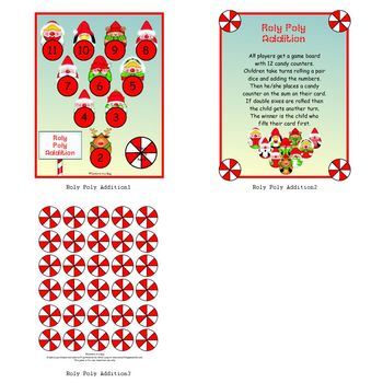 Roly Poly Addition Game