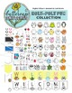 Cute Animal Clip Art Collection: 17 animals and all the accessories