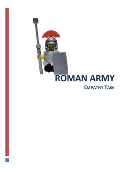 Roman Army Empathy Task Year 7