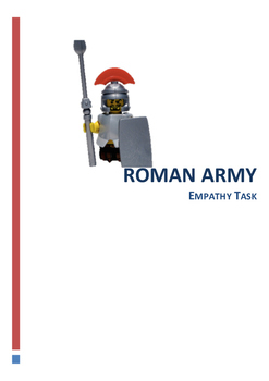 Roman Army Empathy Task Year 7