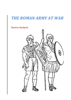 Roman Army Sources and Questions - Year 7/8