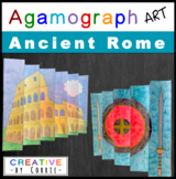 Roman Colosseum Agamograph Art Project for Ancient Rome or