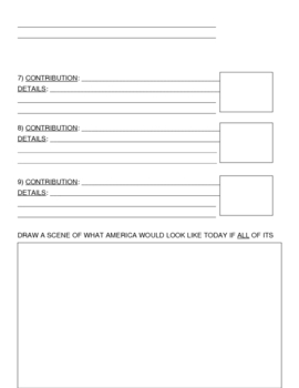 Roman Contributions Worksheet