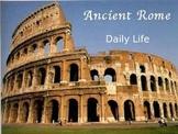 Roman Daily Life PowerPoint