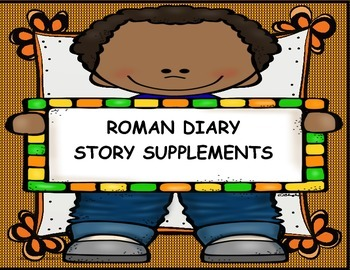 Roman Diary (6th grade) Reading Questions, Activities+ Bundle