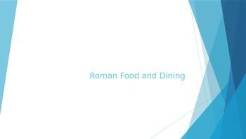 Roman Dining PowerPoint Presentation