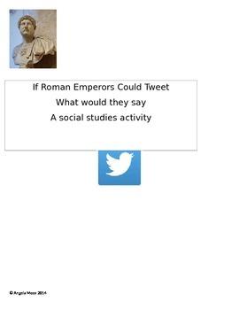 Roman Emperor Tweets