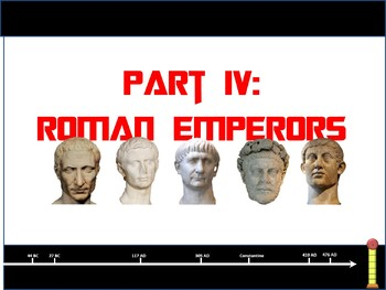 Roman Emperors Animated PowerPoint Presentation