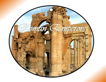 Roman Emperors Circle Graphic Organizer Activity