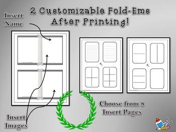 Roman Emperors Research Mini Fold-Ems
