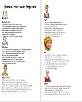 Roman Emperors Spin Puzzle - Bill Burton