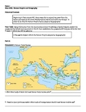 Roman Empire - Ancient Rome Geography Mini DBQ