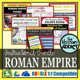 Roman Empire (Ancient Rome) Interactive Notebook Instructional Bundle