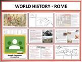 World History - Roman Empire - Complete Unit