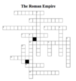 Roman Empire Crossword Puzzle
