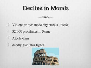 Roman Empire Fall - PowerPoint