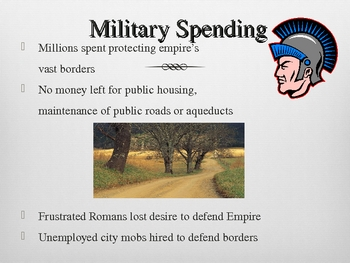 Roman Empire Fall - PowerPoint