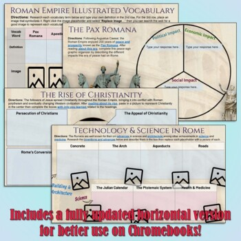 Roman Empire Google Drive Interactive Notebook