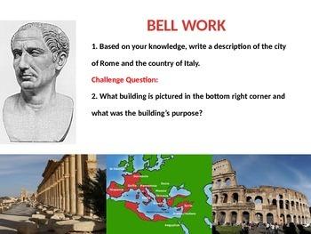 Roman Empire Lesson 1: Archaic Rome