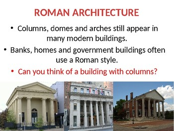 Roman Empire Lesson 5: Roman Achievements