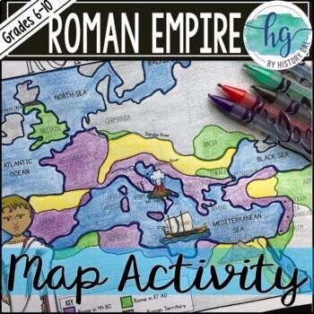 Roman Empire Map Activity