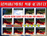 Roman Empire Map Activity: fun, engaging, easy to follow PowerPoint