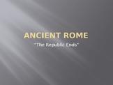 Roman Empire Notes PowerPoint