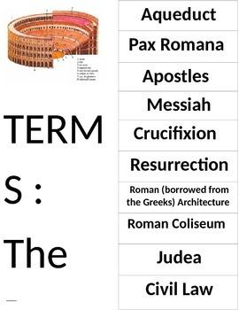 Roman Empire Tri Fold